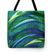 Linear World Tote Bag