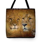 Lions No 02 Tote Bag