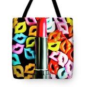 Lipstick Lips Tote Bag