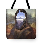Lisa With A View Tote Bag