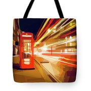 London Phone Box Tote Bag by ISAW Company