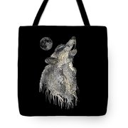 Lone Wolf Tote Bag by Mark Taylor