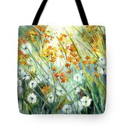 Lonely End Of The Summer Tote Bag