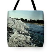 Look Into The Wave Tote Bag