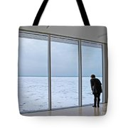 Looking At The Lake Tote Bag
