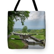 Looking Down Caen Hill Tote Bag