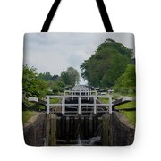 Looking Up Caen Hill Tote Bag