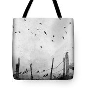 Looks Like Rain II Tote Bag