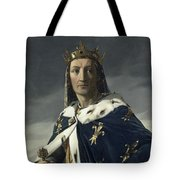 Louis Viii, King Of France Tote Bag