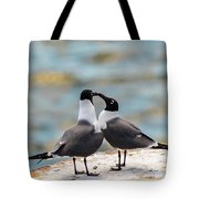 Love Birds Tote Bag by Dheeraj Mutha