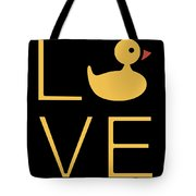 Love Ducks Super Cute And Very Fun Love Gift Idea Design Tote Bag