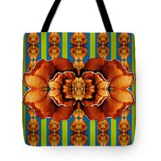 Love For The Fantasy Flowers With Happy Joy Tote Bag