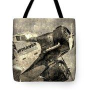 Lufthansa Junkers Ju 52 Vintage Tote Bag