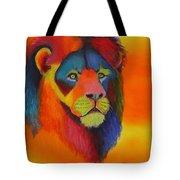 Luminesent Lion  Tote Bag