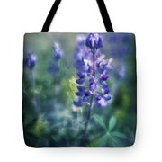 Lupine Blues Tote Bag