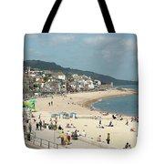 Lyme Regis Beach Tote Bag