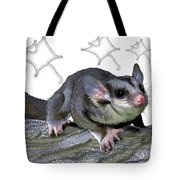 M Is For Mahogany Glider Tote Bag