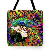 Macaw High I Tote Bag