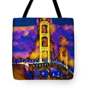 Mackinac At Dusk Tote Bag