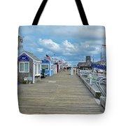 Macmillan Pier Provincetown Cape Cod Massachusetts 01 Tote Bag