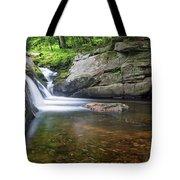 Mad River Falls Tote Bag by Nathan Bush