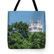 Madrid Crown Tote Bag by Juan Contreras