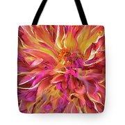 Magenta Sunshine Tote Bag by Cindy Greenstein