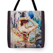 Magic Loves The Hungry  Tote Bag by Rene Capone