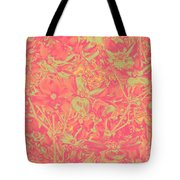 Magnolia Abstract Tote Bag by Mae Wertz