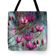 Magnolia At Midnight Tote Bag