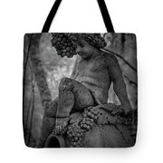Magnolia Child Statue Tote Bag