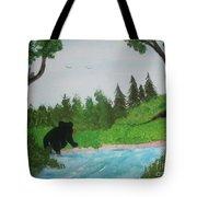 Maine Black Bear Tote Bag