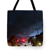 Maine Street Sunset  Tote Bag
