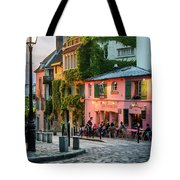 Maison Rose Evening II Tote Bag by Brian Jannsen