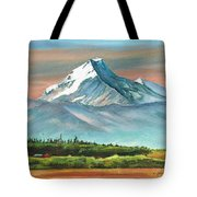 Majestic Mount Cook Tote Bag