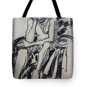 Male Nude I Tote Bag