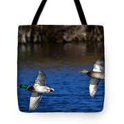 Mallards Belly Up Tote Bag