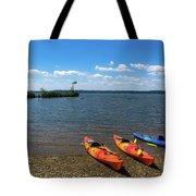 Mallows Bay And Kayaks Tote Bag