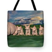 Mamma And Her Little Clones Tote Bag