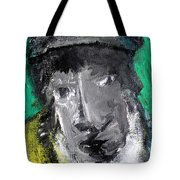 Man In A Scarf Tote Bag