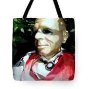 Man In Bushes Tote Bag
