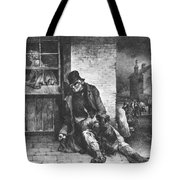 Man On The Street Tote Bag
