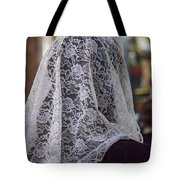 Mantilla Tote Bag