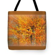 Maple Focal Zoom Tote Bag