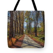 Maple Lane Old Fairgrounds Road Nh Tote Bag