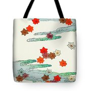 Maple Leaf - Japanese Traditional Pattern Design Tote Bag