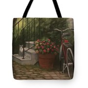 Marblehead Porch Tote Bag