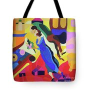 Marc And Bella Chagall Tote Bag