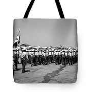 March At Airport Tote Bag