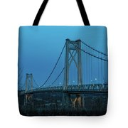 March Evening At Mid-hudson Bridge 2019 Tote Bag